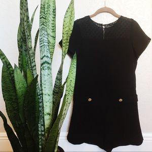 Zara Black Romper XS